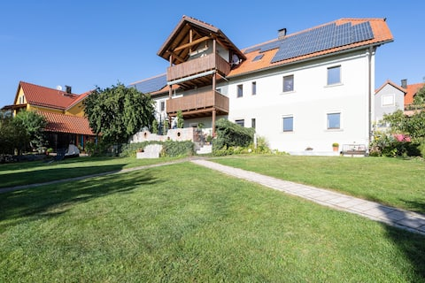 Apartment in Tännesberg with Terrace, Garden, Pond, Heating