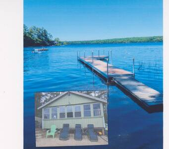 It's a Beautiful Life in a Camp on Lake Pemaquid!