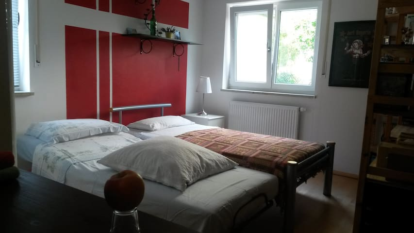 Laid back room in Erding - Erding - Apartamento
