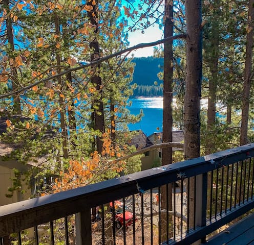 Lake View Condo on Donner Lake