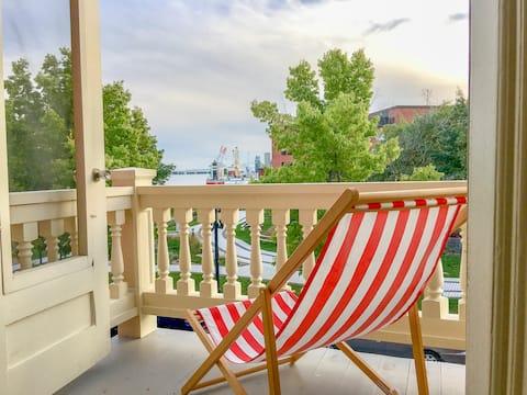 Superbe appartement vue sur le fleuve et le port