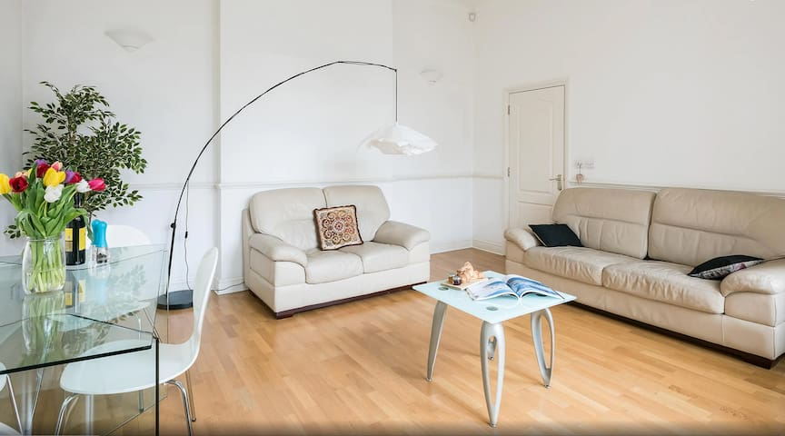 Bright, spacious and comfy living space