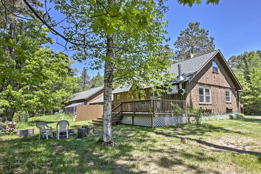 The home is within walking distance of Little Saint Germain Lake and numerous community amenities.