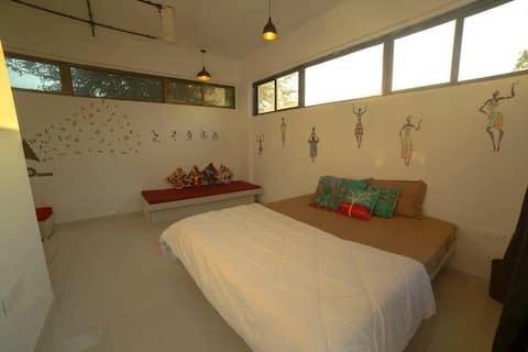 Neobične mirne obalne sobe za 2-6 osoba - Alibag