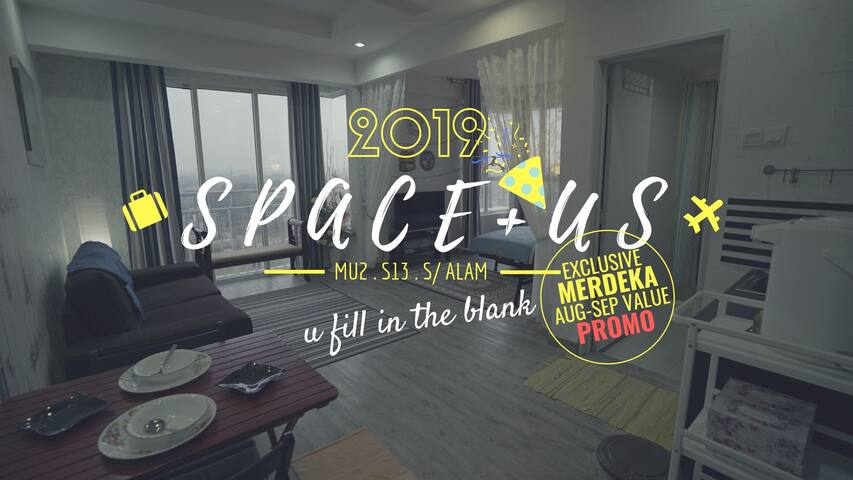 ★ SPACE+US ★ near Aeon, MSU, Stadium, I-City, Uitm