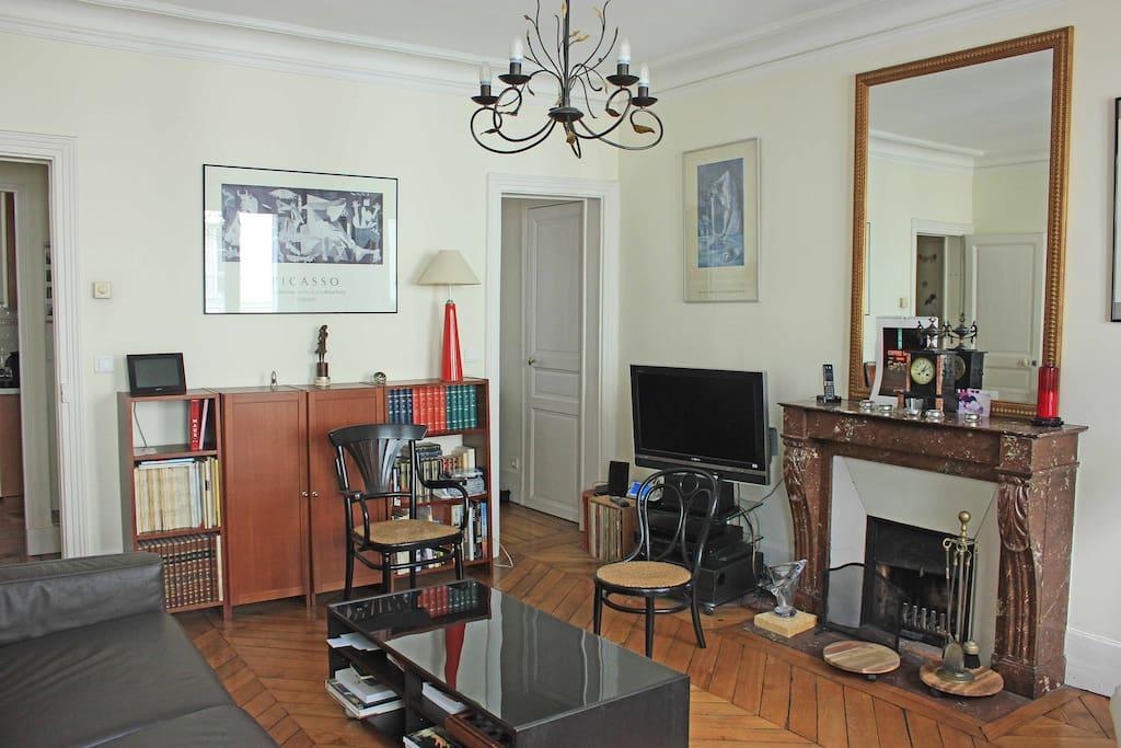 Salle de séjour / Living Room