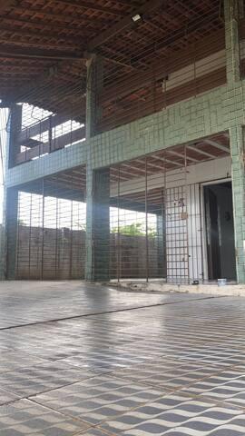 Casa grande com piscina na ilha de Itamaracá