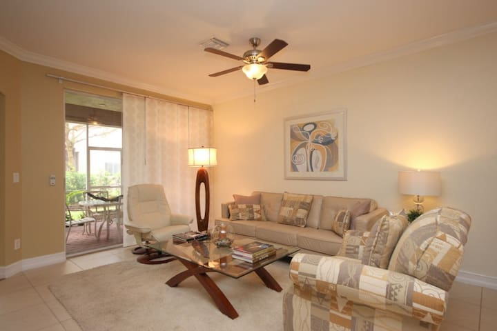 3 bedroom plus den in upscale SW Florida community