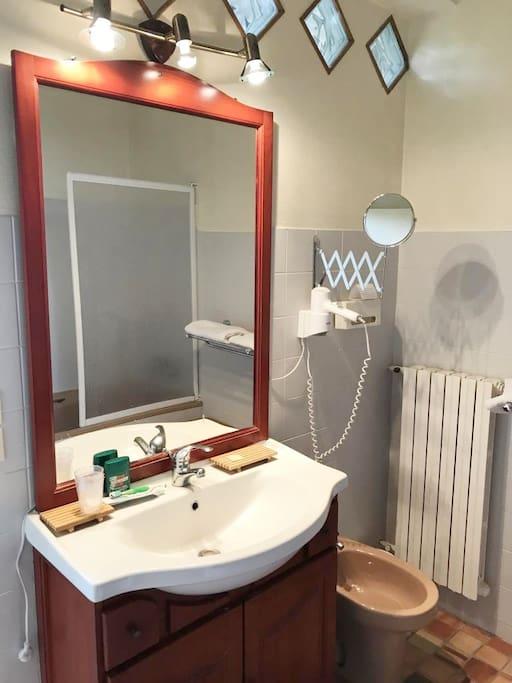 Salle de bain chambre Jasmin
