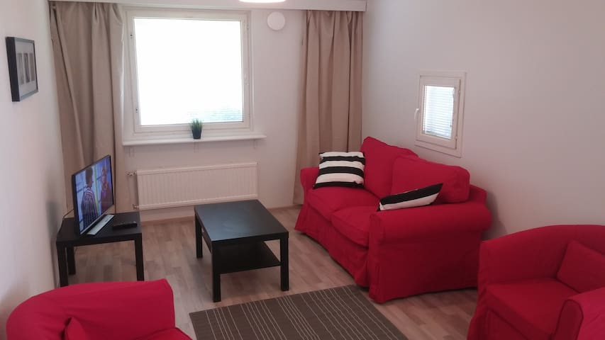 Nice and spacious 2-bedroom apartment with peaceful location. (ID 6585)