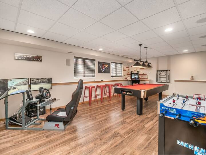 *Extended Stay* Joliet FHS Rental- Arcade Style