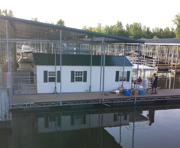 Cottage on the Water (Houseboat) - Ashland City - Hytte