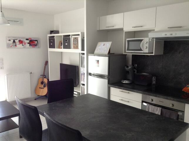 Nice and new place only 20min from the center!! - Vénissieux - Apartment