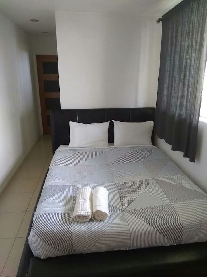 Apartamento arejado e limpo