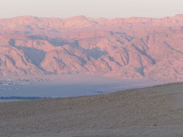 mountains, open landscape & view - Shaharut - House