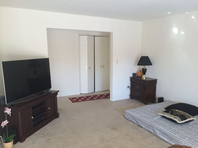 Huge room attached bath parking - Troy - Lejlighed