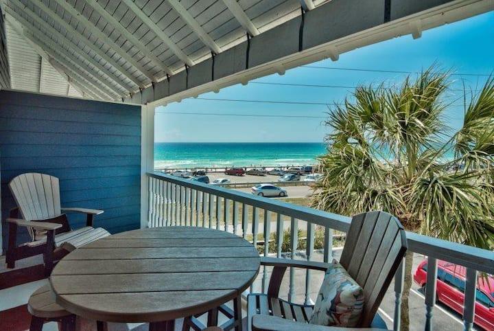 Beach View  ☼  Sugar White Sand ☼  Gulf Breeze