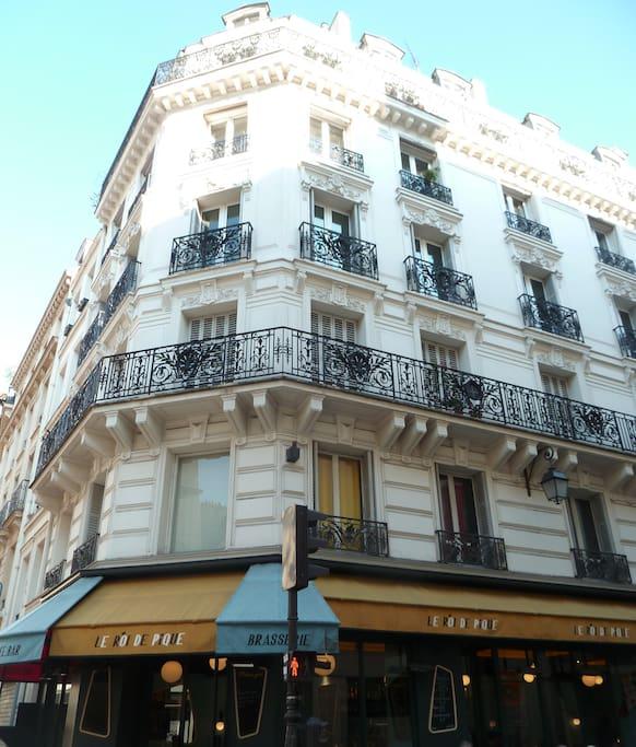 Immeuble de caractère du 19ème siècle