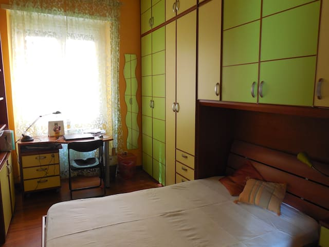 San Pietro Olimpico single quiet bedroom