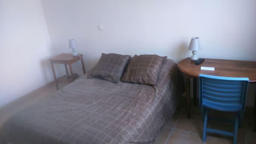 Chambre confortable maison récente - Lapalud - House