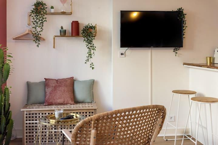 Appartement tendance et lumineux