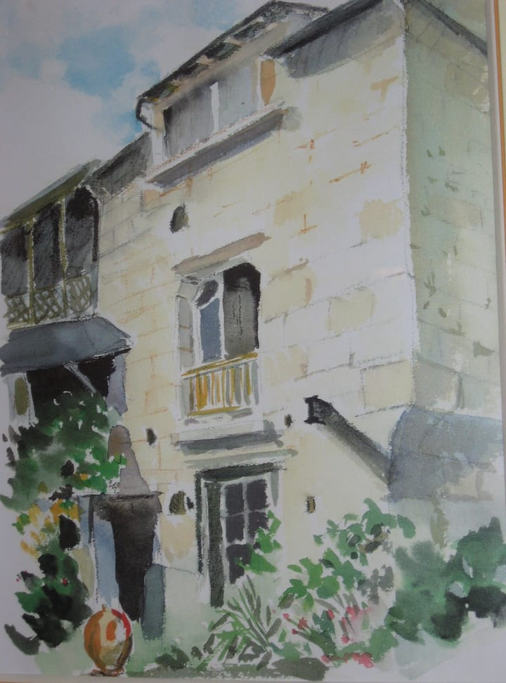 "Gîte ""Bon Accueil"", 3***,  Souzay-Champigny 49"