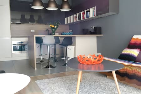 Designer apartment, a sanctuary for wanderers - Budapešť