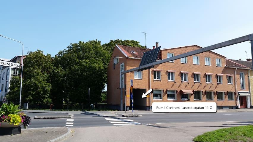 Rum i Centrum, Enkelrum, info i beskrivning (11)