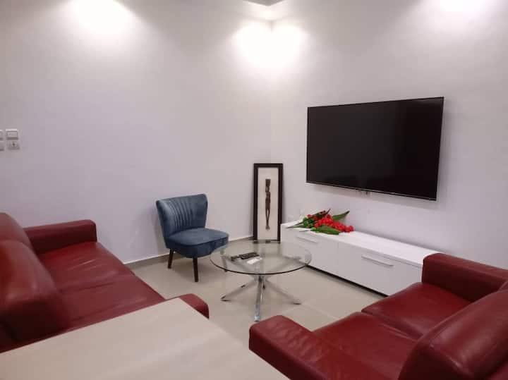Appartement d'une chambre salon à 5mn de la plage