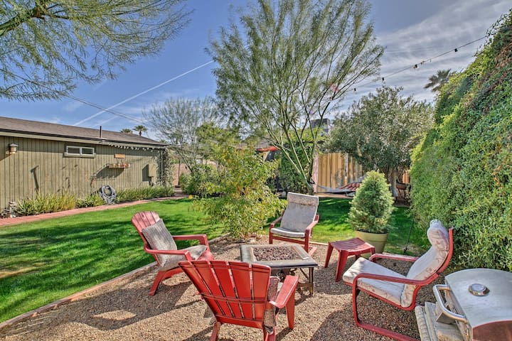 Charming 1BR Garden Home 5 Min to Downtown Phoenix