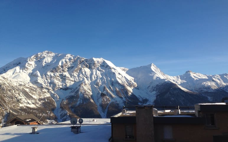 Nice flat with a view, very close from pistes - Orcières - Leilighet