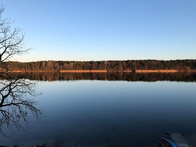 Urlaub direkt am Strausee - Natur pur