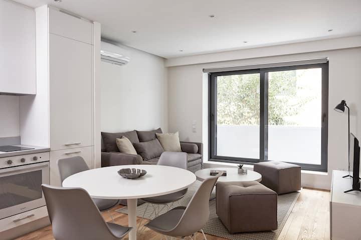 Spacious, Modern Apt w/Large Terrace