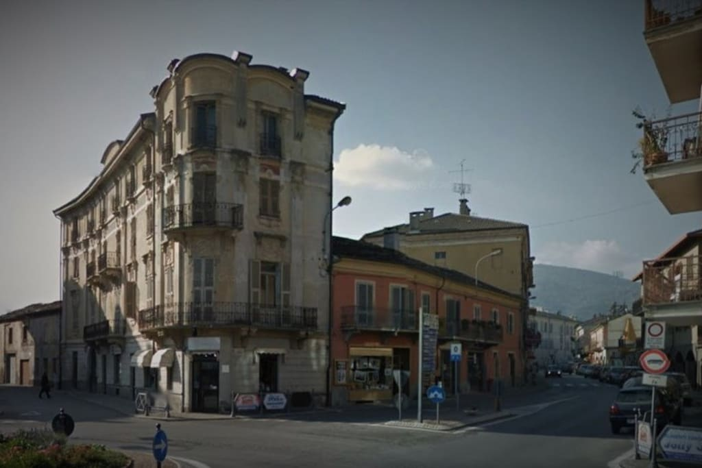 Vista da Strada Statale Cuneo/Dronero