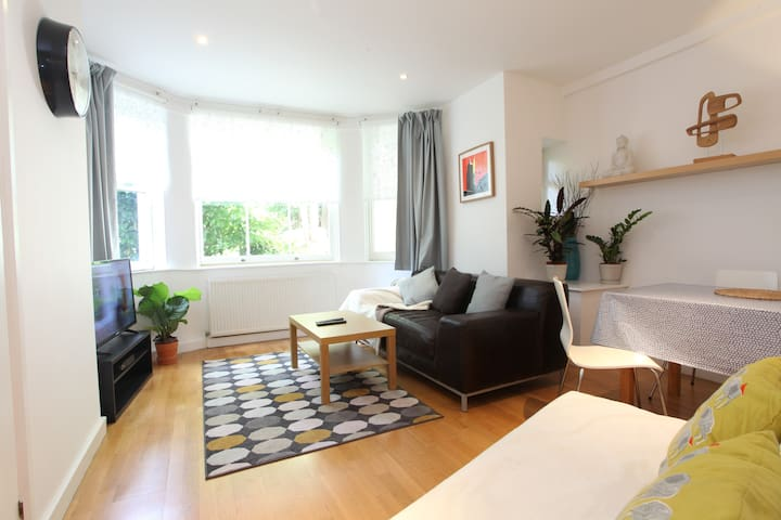 Spacious holiday apartment in Belsize Park