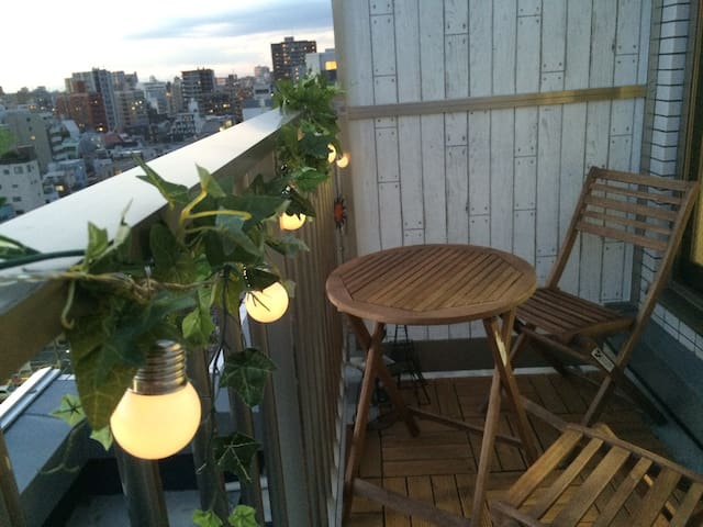 New Gallery Apt. with Balcony ~ Ueno - Taitō-ku - Квартира