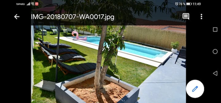 One- bedroom apartment with shared pool 2+2