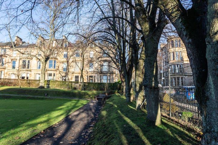Victorian Townhouse conversion Athole Gardens