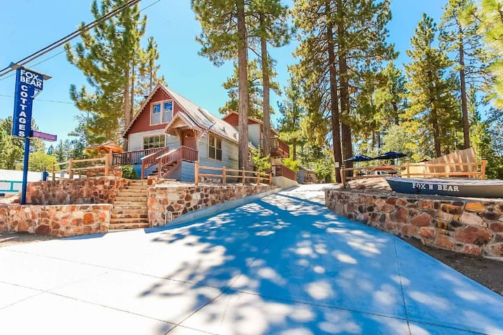 Cottage 1 Arctic Fox Family Retreat Perfect Location to Enjoy Big Bear