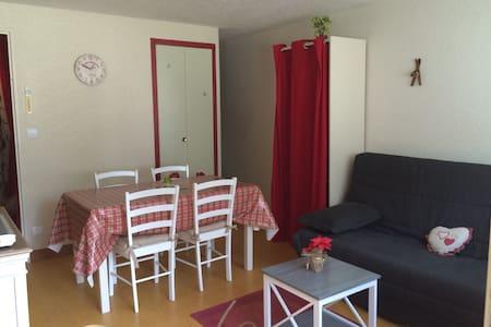 Studio 26m² Saint lary  4-5 pers ski, rando, cure - Saint-Lary-Soulan