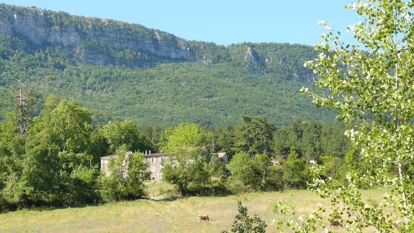 les magnans calme et très belle vue - Noyers-sur-Jabron