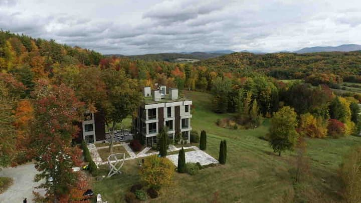 Rural, but Modern Vermont Family Compound