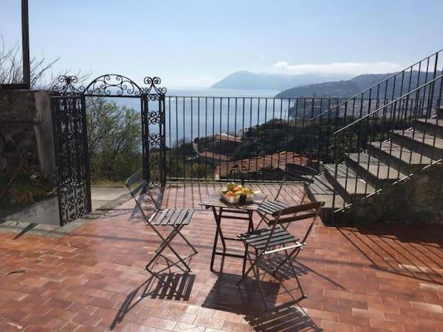 Lipari Villa Serra Panoramica