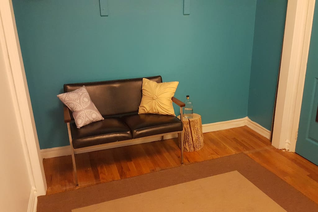 Couch area for hanging out