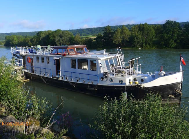 Houseboat in leisure park nr Paris - Draveil - Boot