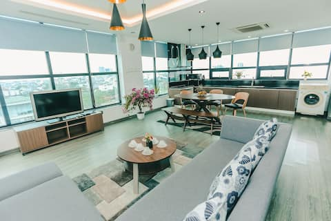 Panorama  view 2br * 6pax * free car parking