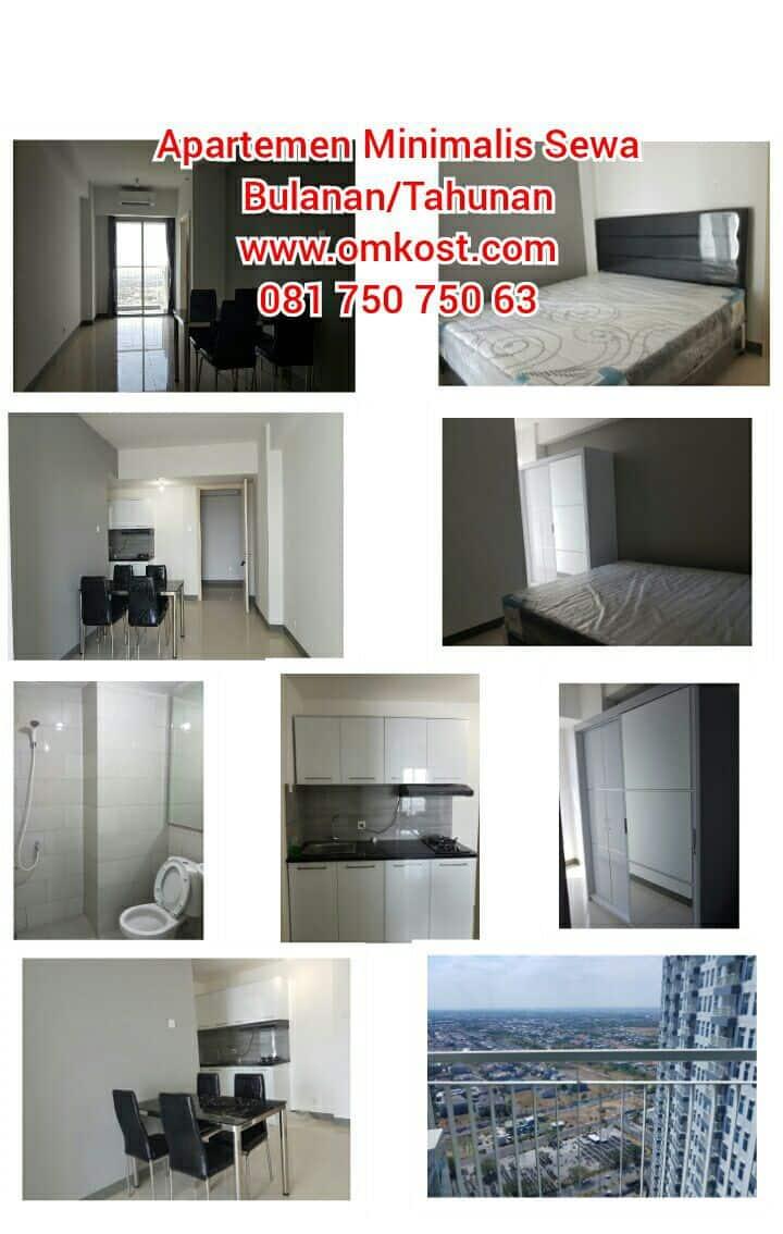 Apartemen Sby Barat Sewa Bulanan (min 3 bln)/Thnan