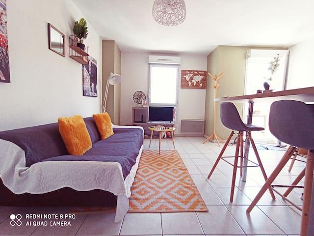 Paisible & élégant Appartement - Emplacement idéal