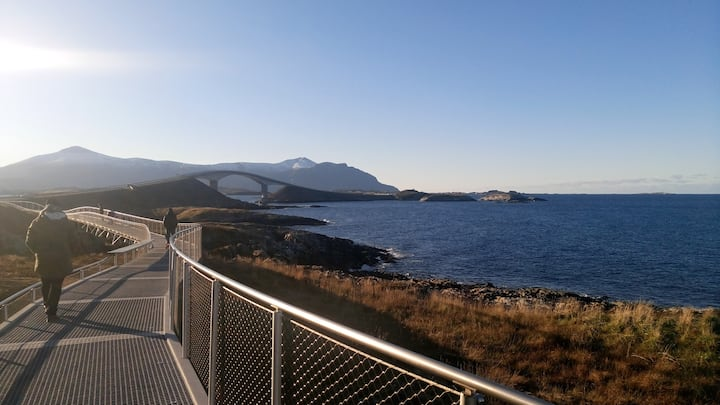 Høgberget by the Atlantic Ocean Road