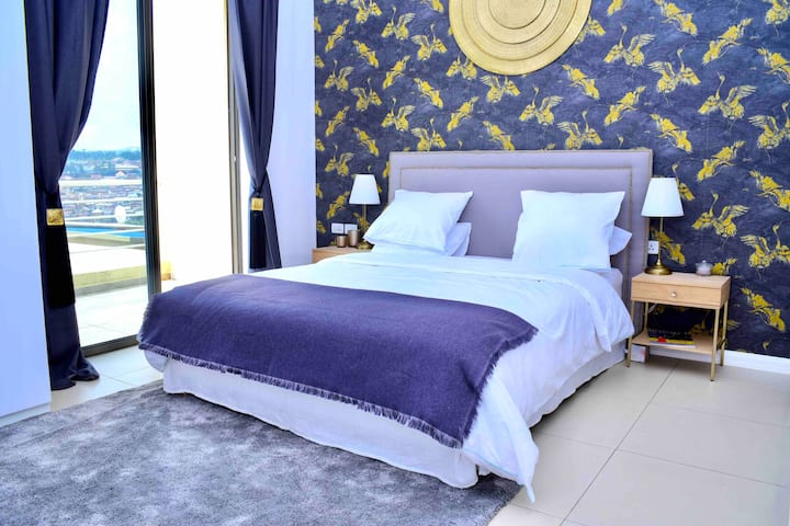 ★ luxury BR in fully serviced villa-Kigali center